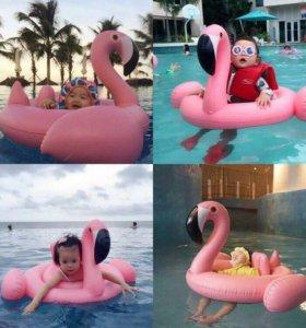 """Детская надувная лодочка """"Фламинго"""""""