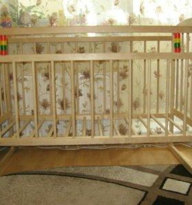 Кроватка и матрас
