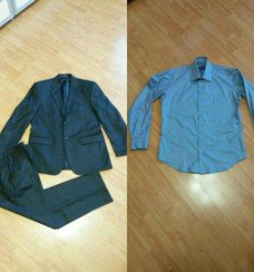 Костюм мужской + рубашка!!!