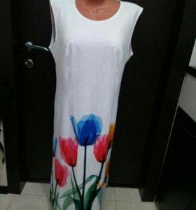 платье новое на размер от 46-48-50р.