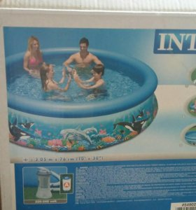 Продаю бассейн б/у огромный ☺