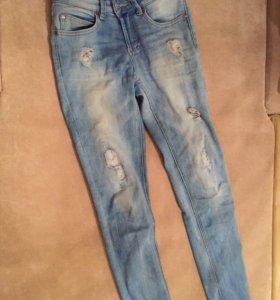 Crop джинсы