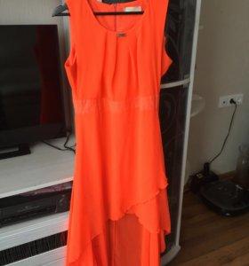 Платье две длинны летнее