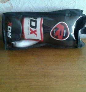 Боксёрские перчатки RDX + накладки