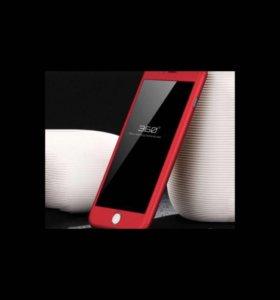 Чехол на 360 градусов для айфон7