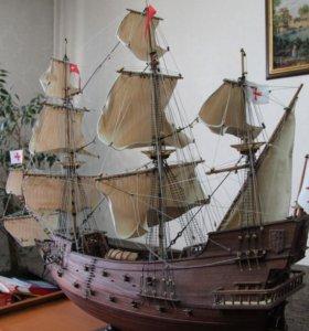 Модель, макет корабля