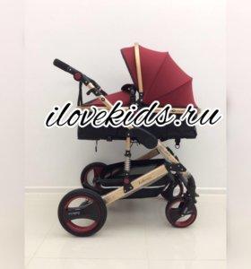 Детская коляска трансформер 2в1