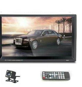 Магнитола, HD экран, GPS, Bluetooth + камера