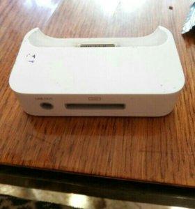 Зарядка настольная для Айфон 4s