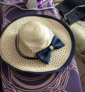 Пляжные шляпа и сумка