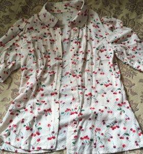 Блузка хлопок размер 40-42