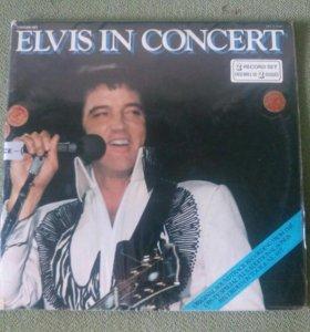Пластинка Elvis Presley