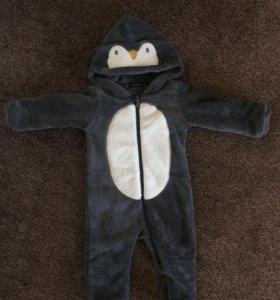 Тёплый Комбинезон Пингвин