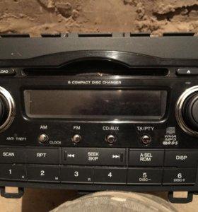 Штатная магнитола Honda CR -V3 39100-SWA-G203