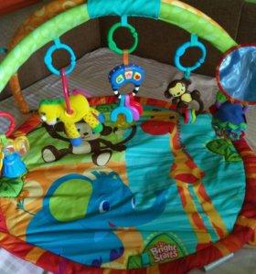 Развивающий коврик с игрушками Bright Starts