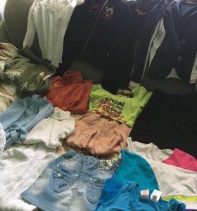 Ассортимент одежды на девочек 146-158