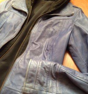 Кожаная куртка, натуральная
