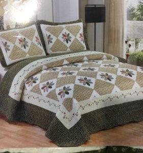 📌 покрывало на двухспальную кровать евро размер