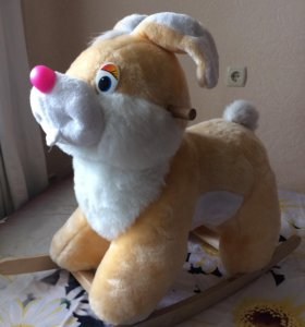 Качалка-Зайяц игрушка