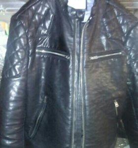 """Куртка натуральная кожа с утеплитель """"Wrangler"""""""
