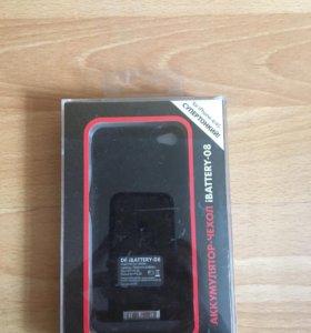 Чехол - аккумулятор для iPhone 4, 4s