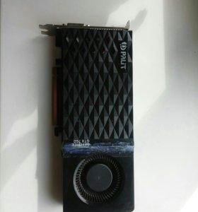 Видеокарта palit geforce GTX 760 2gb