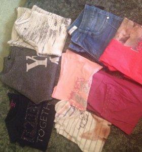 Пакет вещей на девочку 9-11лет