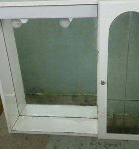 Шкаф зеркальный для ванной