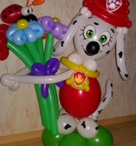 Маршал из воздушных шаров