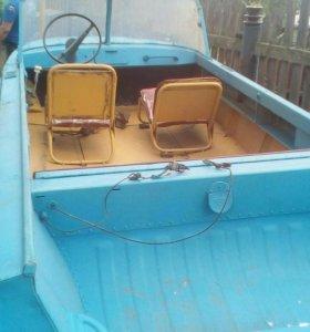 Моторная лодка казанка 5м2
