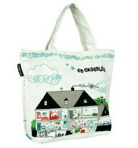 Пляжная сумка Pola домик