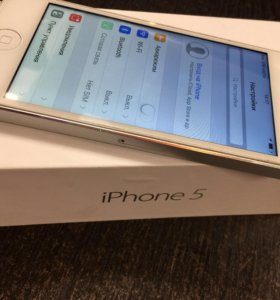 iPhone 5 16Gg white