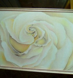 "Картина ""Чайная роза"""