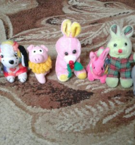 Мягкие игрушки и брелки