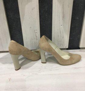 Туфли замша 37