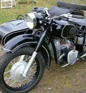 Ретро мотоцикл к 750
