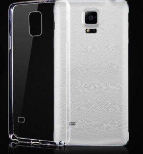 Силиконовый чехол для Samsung Galaxy Note 4
