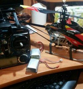 Вертолет Wltoys v913 + подвес Gopro