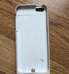 Аккумулятор-чехол на iPhone 5/5s