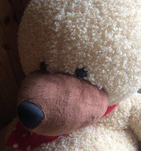 мягкая игрушка мишка большой
