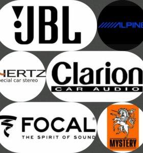 Подключение аудио системы