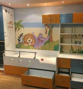 Мебель для детской комнаты б/у