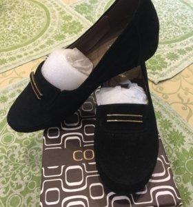 Новые туфли натуральная замша COVANI
