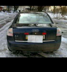 Задние фонари Audi A6 C5 серебристые Hella тюнинг
