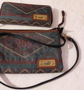 Puma *Apache Collection*.Сумка и кошелек