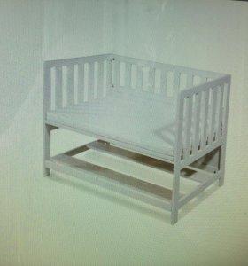 Детская кроватка приставная Pinolino JANNE