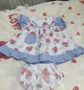 Продаются платья на маленьких принцесс