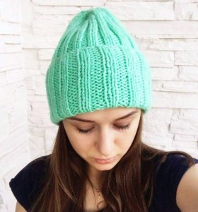 Новый зимний комплект (шапка+снуд)