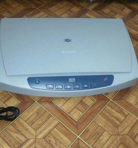 Сканер HP Skanjet 4500c