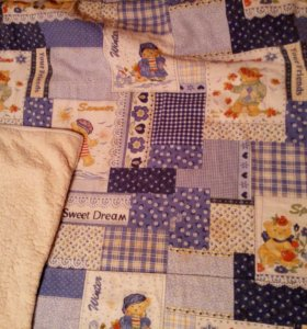 Одеяло в детскую кроватку зимнее 100/130